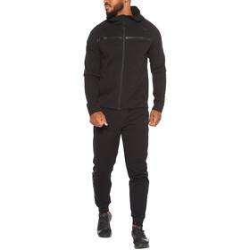 2XU Commute Hættetrøje med fuld lynlås Herrer, sort